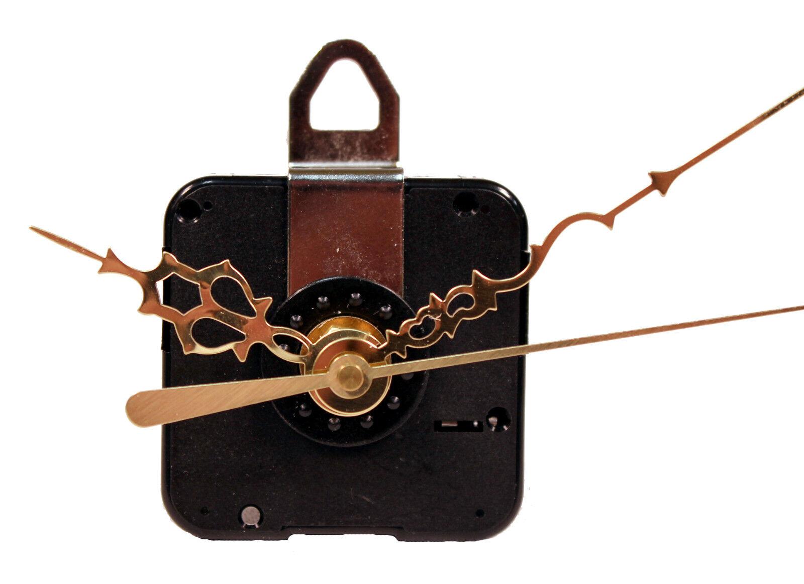Quartz Clock Motor Movement Kit, 11/16 Long Shaft, 5/8 Inch Max Dial -USA SELLER Clocks