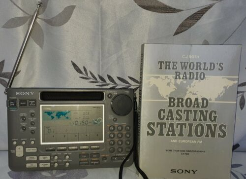 Sony ICF-SW55 World Receiver with SSB Reception - Made in Japan