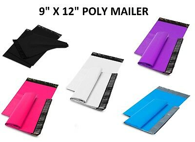9 X 12 Shipping Envelopes Poly Mailers Sealing Mailing Bags Plastic Colour