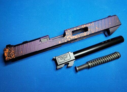 Glock 34 Gen 4 Zaffiri Precision Custom Slide W/ RMR HOLOSUN Optic Cut  - $399.00
