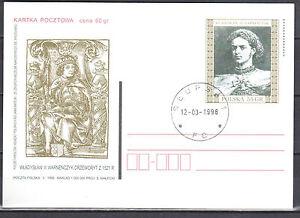 Poland 1998 - Wladyslaw III Warnenczyk - Fi. Cp 1169 - postcard - used - <span itemprop='availableAtOrFrom'>Cieszyn, Polska</span> - Poland 1998 - Wladyslaw III Warnenczyk - Fi. Cp 1169 - postcard - used - Cieszyn, Polska