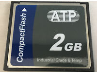 512MB Compact Flash Card Silicon Systems SSD-C51M-3521 Router Embedded Camera