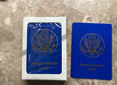 American Embassy Kuwait, Iraq's Most Wanted Playing Cards