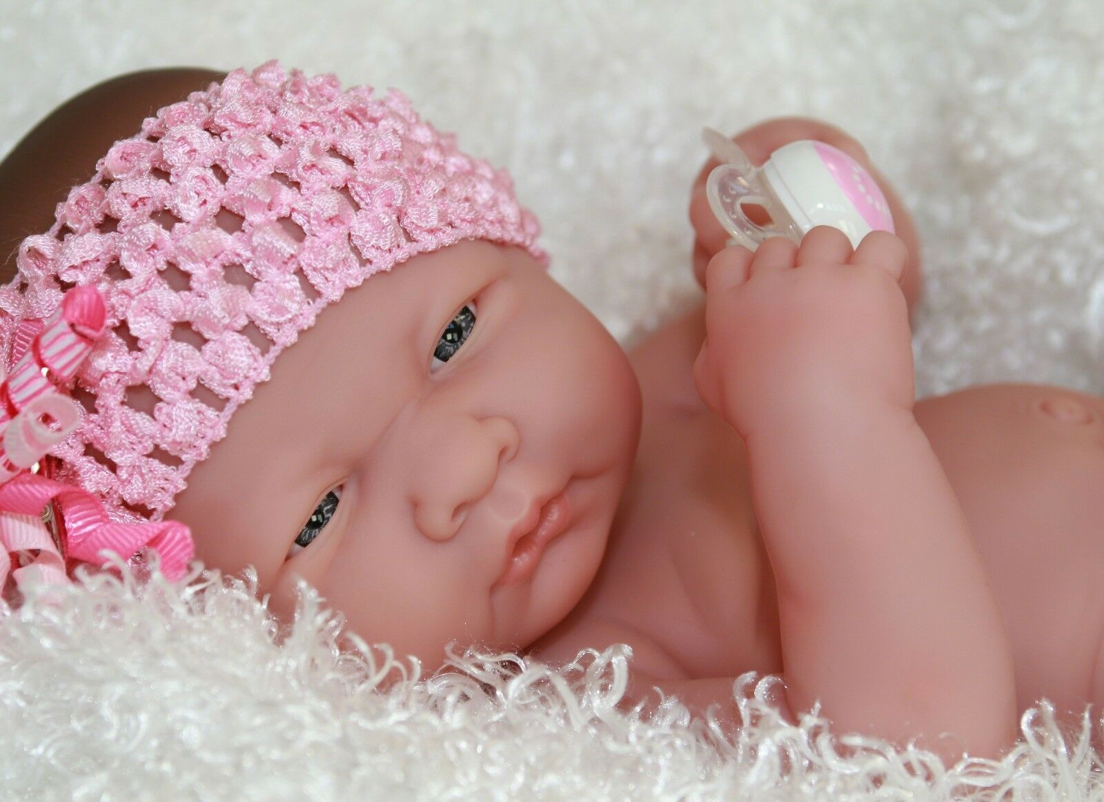 NEW~ Precious Preemie Berenguer La Newborn Doll + Extras - Over 2200+ SOLD