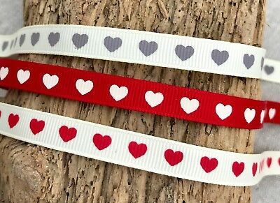 Anniversary Wedding Gift Wrap - Wedding Ribbon - Anniversary - Love Heart Gift Wrap - Valentine Embellishment