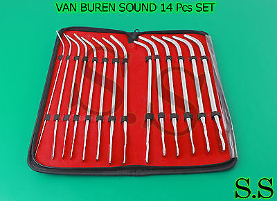 Van Buren Sound 14 Pcs Set Obgyn Surgical Instruments