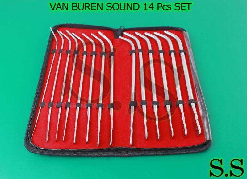 VAN BUREN SOUND 14 Pcs SET OB/Gyn Surgical Instruments