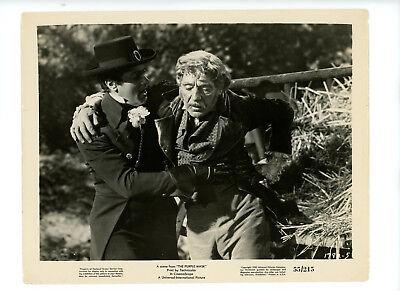 PURPLE MASK Original Color Movie Still 8x10 Tony Curtis Gene Barry 1955 12875