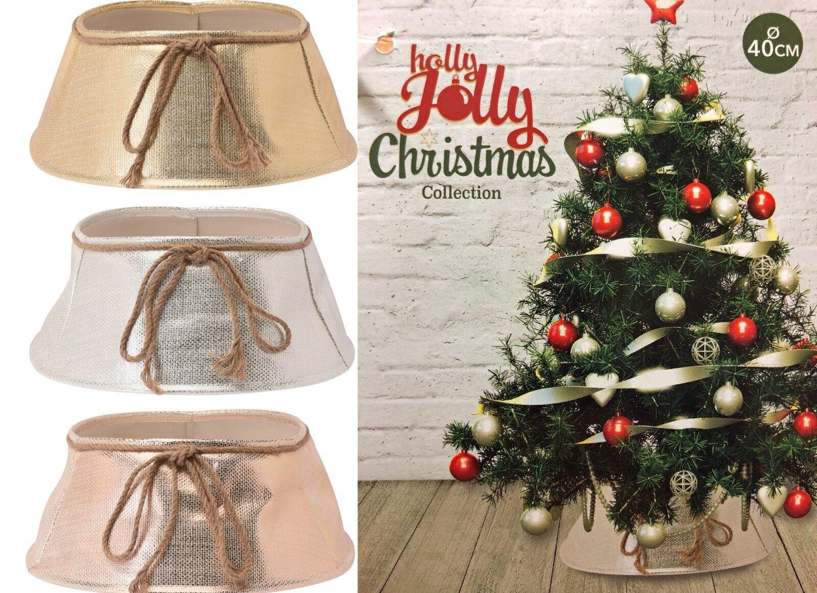 Pns Santa Wicker Christmas Tree Cover Christmas Tree Skirt Xmas Tree Stand Cover Tree Skirts