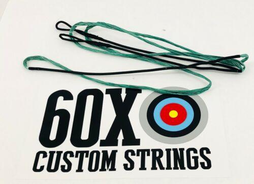 "Green 55"" 58 AMO Dacron Recurve Bowstring 12 14 16 18 Strand Bow Strings"