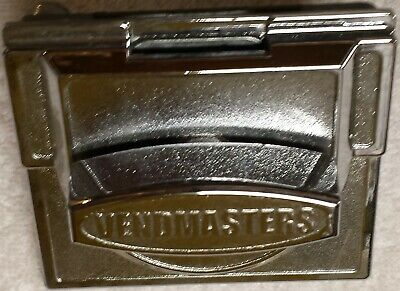 2 25 Cent Vendmaster Vending Candy Gumball Machine Chrome Coin Mechanism