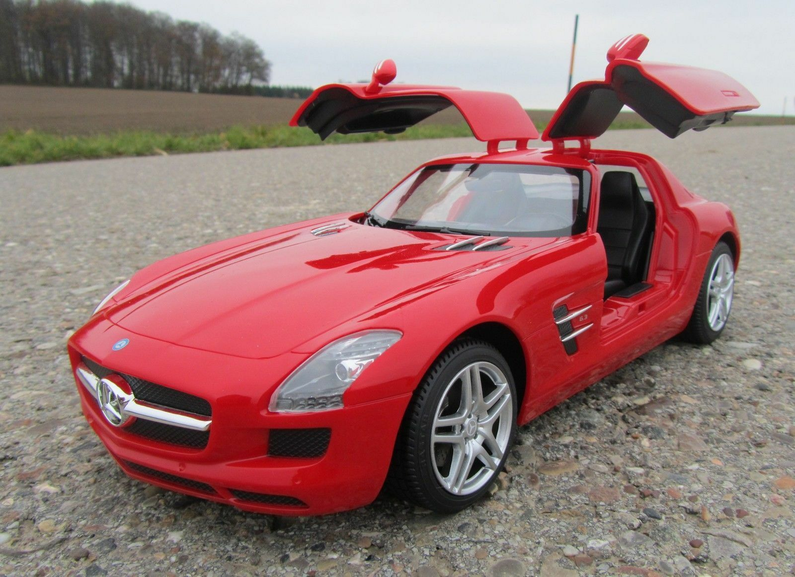 Top 10 electric rc cars ebay for Silverlit mercedes benz sls amg