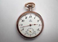 Eine wunderschöne alte Taschenuhr Marke : Omega Hannover - Vahrenwald-List Vorschau