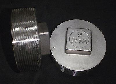 Stainless Steel Plug 3 Npt Pipe Pp-300
