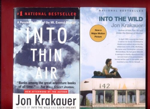 a report on the book into thin air by jon krakauer Into thin air: a personal account into the wild by jon krakauer in this movingly written book, krakauer describes an experience of such bone-chilling horror.