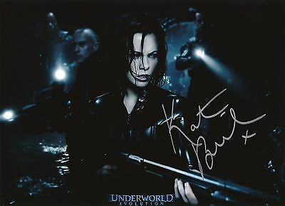 Kate Beckinsale  Underworld  Evolution  Autographed 8X10 Photo With Coa