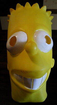 Bart Mask (Deluxe BART SIMPSON Rubber MASK Costume THE SIMPSONS TV SHOW Latex)