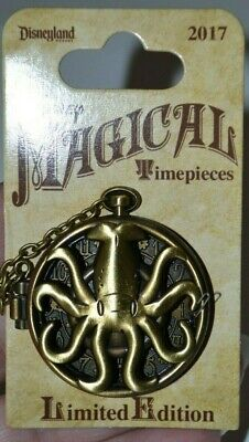 Disneyland Disney Magical Timepieces 20,000 Leagues Under The Sea Pin 122665