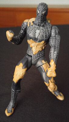 Super Kick Spider-Man Black Costume Spider-Man 3 Movie Figure