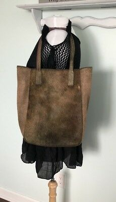 (10 Crosby DEREK LAM Calf Hair/ Leather Large BOND Tote Bag $750)
