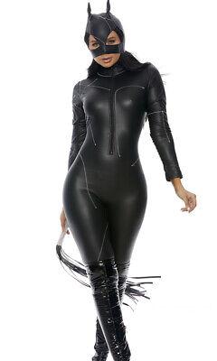 uen Out Sexy Catsuit Erwachsene Damen Halloween Kostüm (Forplay Kostüm)