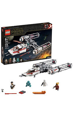 LEGO STAR WARS 75249 DISNEY RESISTANCE Y-WING STAR FIGHTER 578 PIECES SEALED NEW