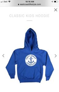 Looking for youth East Coast Lifestyle hoody