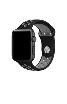Apple Watch Nike+ Series 4/3/2/1 Replacement Silicone Watch Band Sport 38mm/40mm