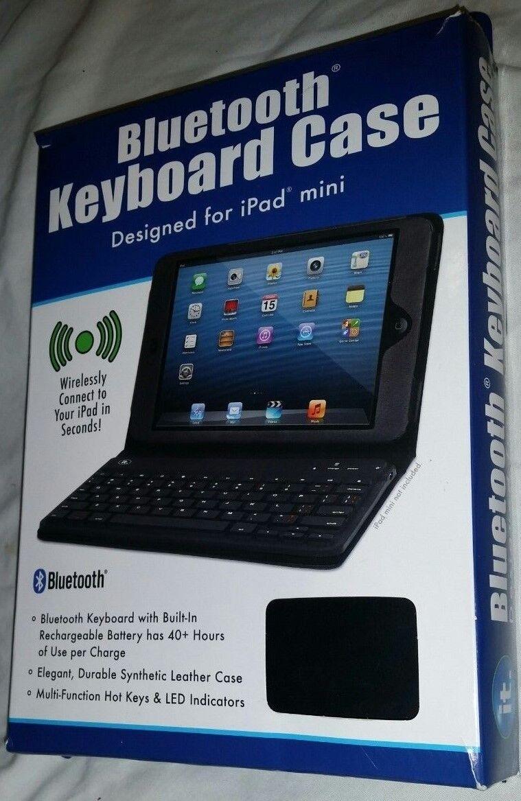 It. iPad Mini Bluetooth Keyboard Case w/ LED Indicators&Mult