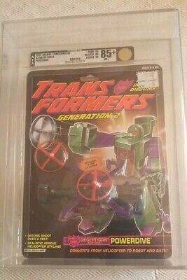 Transformers Generation 2 Powerdive (Hasbro 1994) AFA 85+ 85/85/90