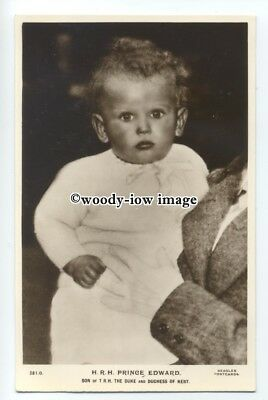r1103 - Baby Prince Edward son of Duke & Duchess of Kent - postcard