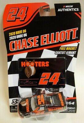 2020 NASCAR Authentics 1/64 Wave 6 Chase Elliott #24 Hooters Gander Truck