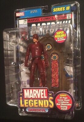 NIB DAREDEVIL Marvel Legends Series III 3 Action Figure New Toy Biz 2002