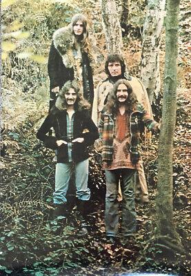 Black Sabbath WWA Promo Poster 1973 Sabbath Bloody Sabbath - New Copy