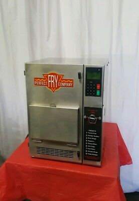Perfect Fry Countertop Ventless Hoodless Commercial Deep Fryer