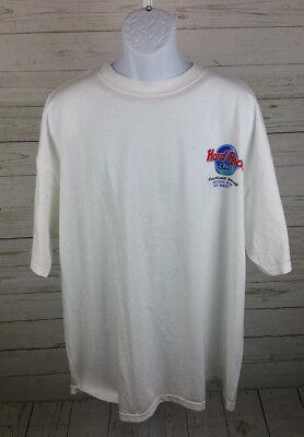 Hard Rock Cafe Key West Matchbox 20 Signature Series Shirt White Size XXL