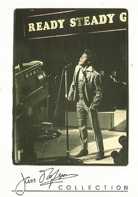 JAMES BROWN MUSIC LEGEND 1999 PYRAMID JAN OLOFSSON 4X6 POST CARD COLLECTION RARE