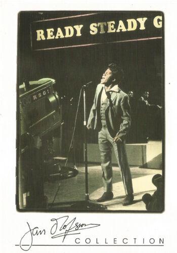 JAMES BROWN MUSIC LEGEND 1999 PYRAMID JAN OLOFSSON 4X6 POST CARD COLLECTION RARE