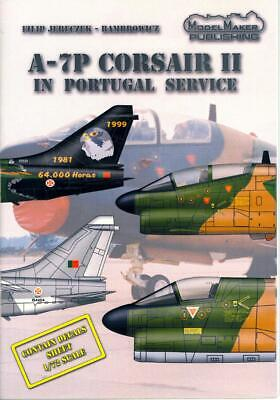 Portuguese Air - Model Maker Decals 1/72 VOUGHT A-7P CORSAIR II Portuguese Air Force