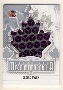 Shania-Twain-2011-ITG-Canadiana-Mega-Memorabilia-SL-Silver-Limited-Card-90