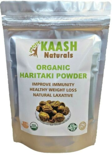 HARITAKI POWDER 100% Raw Supports Digestion USDA Certified Organic
