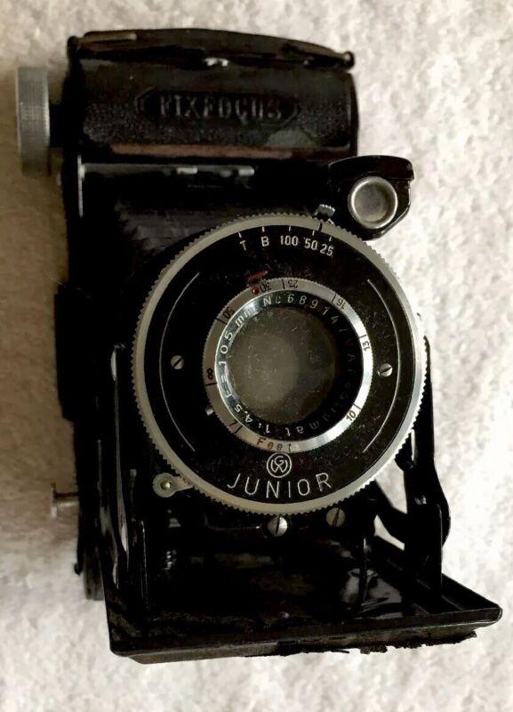 Rare Vintage Balda Fix focus Film Camera Junior 105 Mm 4.5 f