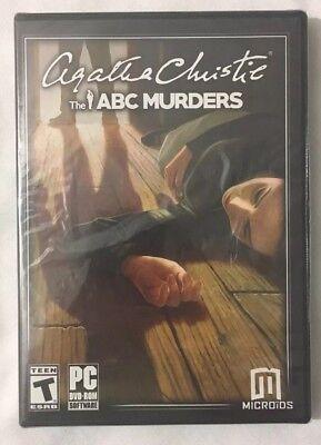 Agatha Christie The ABC Murders Windows DVD PC XP Vista 7 8 10 New Sealed Box