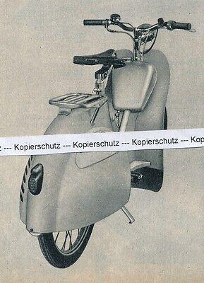 Amoretto Roller - Amo-Motorengesellschaft - um 1955 - RAR J 21-3