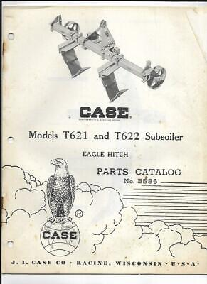 Case T621 And T622 Subsoiler Eagle Hitch Parts Catalog No. B586