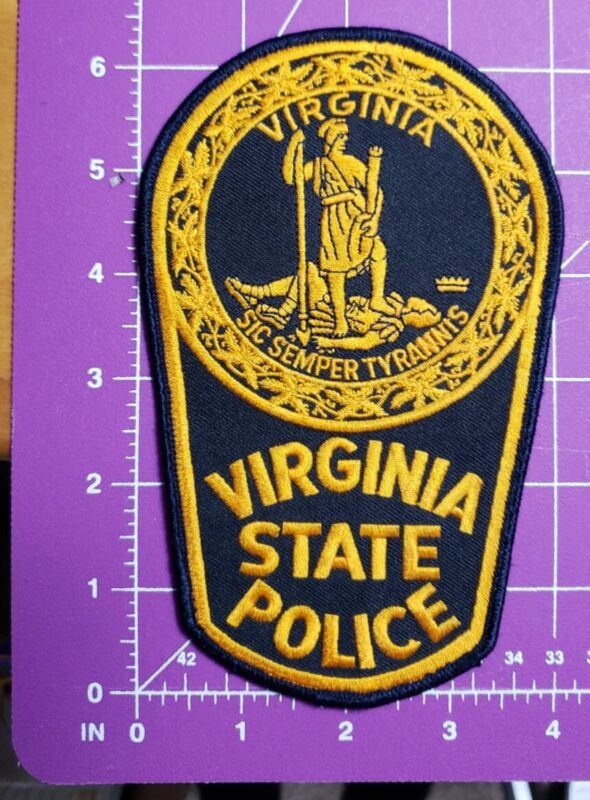 Virginia State Police-large shoulde patch