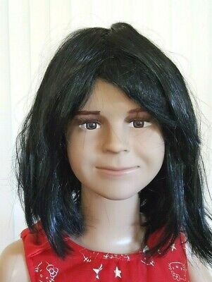 Child Girlboy Heads For Full Body Mannequins Life Size Head-face1wig