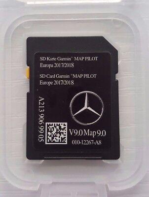 NEW Mercedes Benz SD Card Garmin Map Pilot V9 2017/8 Latest A2139069905 W205 213