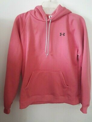 Under Armour Womens Hoodie Size Medium - M Pink Pullover