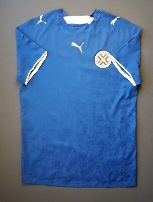 5/5 Paraguay jersey player issue soccer football away shirt 2006 2007 Puma image